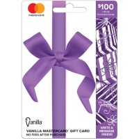 $100 Vanilla Mastercard Gift Card