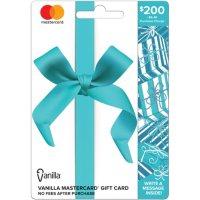 $200 Vanilla Mastercard Gift Card