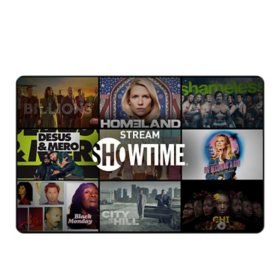Showtime eGift Card - Various Values (Email Delivery)