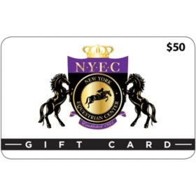 New York Equestrian Center (West Hempstead, NY) $100 Value Gift Cards - 2/$50