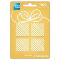 $100 American ExpressGift Card
