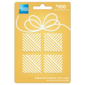 $100 American Express ® Gift Card