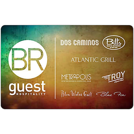 BR Guest Hospitality eGift Cards - Various Amounts (Email Delivery)