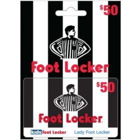 Foot Locker $50 Gift Card