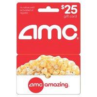 AMC Theatres Gift Card - $25