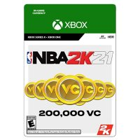 NBA 2K21 200,000 Virtual Currency (Xbox Series X/Xbox One) - Digital Code (Email Delivery)