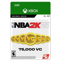 NBA 2K21 75,000 Virtual Currency (Xbox Series X/Xbox One) - Digital Code (Email Delivery)
