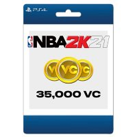 NBA 2K21 35,000 Virtual Currency (PlayStation 4) - Digital Code (Email Delivery)