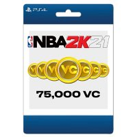 NBA 2K21 75,000 Virtual Currency (PlayStation 4) - Digital Code (Email Delivery)