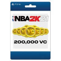 NBA 2K21 200,000 Virtual Currency (PlayStation 4) - Digital Code (Email Delivery)