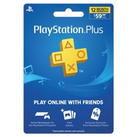 Sony PS Plus 12-Month 2020 eGift Card (Email Delivery)