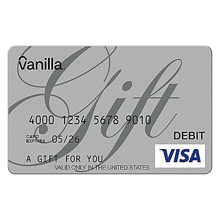 Vanilla eGift Visa Virtual Account - Various Amounts (Email Delivery)