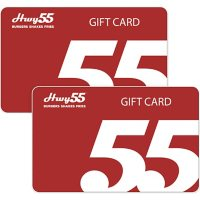 HWY 55 Burgers $50 Value (2 x $25 Gift Cards)