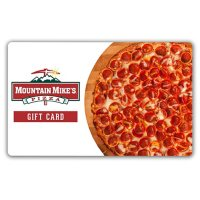 Mountain Mike's Pizza $50 Value Gift Cards - 2 x $25