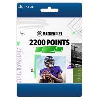 Madden NFL 21: 2200 Points (PlayStation 4)  - Digital Code (Email Delivery)