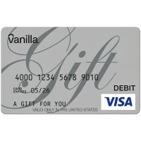 Vanilla eGift Visa Virtual Account - Various Amounts (Email Delivery)