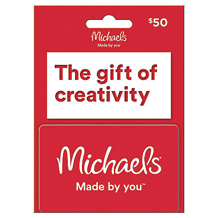 Micheals $50 Value Gift Card