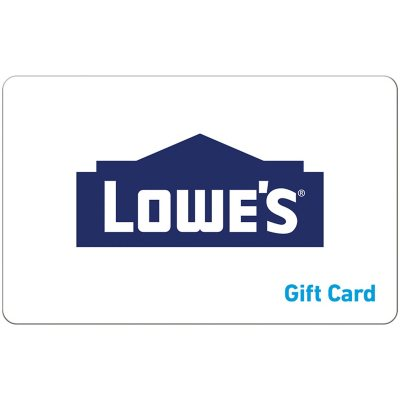 $100 Lowes eGift Card