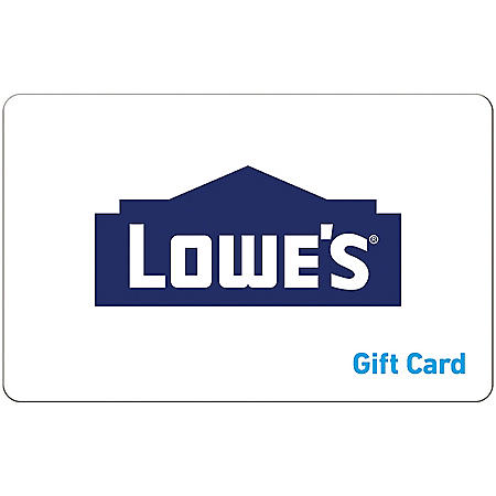 Lowe's $100 eGift Card (Email Delivery)
