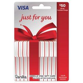 $50 Vanilla® Visa® Gift Card