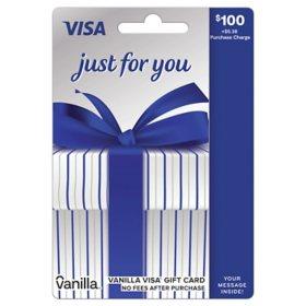 $100 Vanilla® Visa® Gift Card