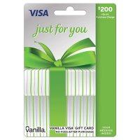 $200 Vanilla® Visa® Gift Card