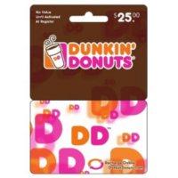 Dunkin' Donuts DD Card - $25