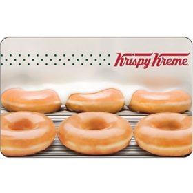 Krispy Kreme $25 Value Gift Card