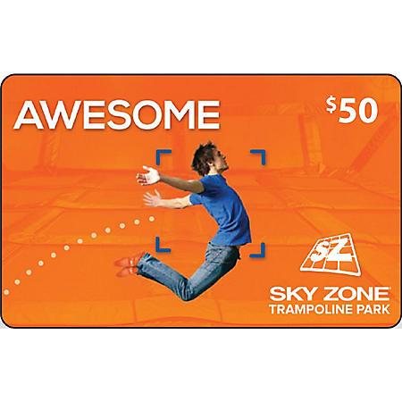 Sky Zone (Cincinnati) $50 Value Gift Cards - 2 x $25