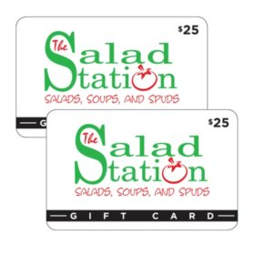 The Salad Station $50 Value Gift Cards - 2 x $25