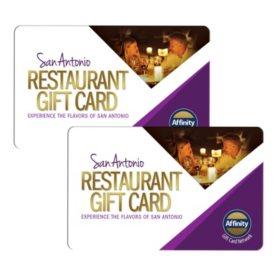 San Antonio Restaurant 100 Value Gift Cards 2 X 50