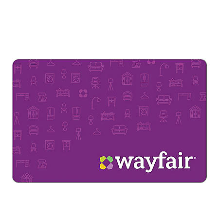 Wayfair eGift Card - Various Amounts (Email Delivery)