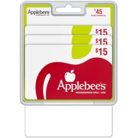 Applebee's $45 Gift Card Multi-Pack