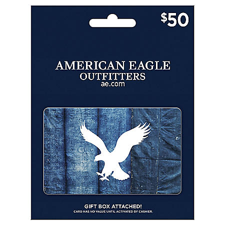 American Eagle $50 Value Gift Card