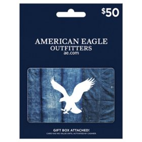 American Eagle $50 Value Gift Card