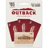 Deals on $85 Outback Steakhouse Gift Cards