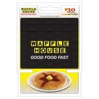 Waffle House $30 Value Gift Cards - 3 x $10