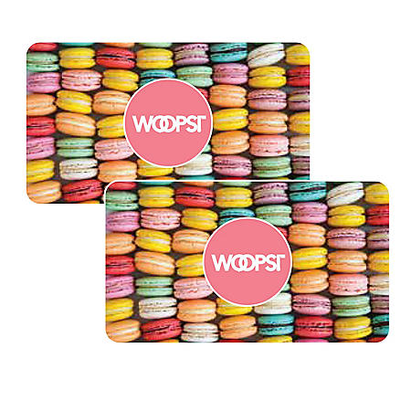 WOOPS! $50 Value Gift Cards - 2 x $25