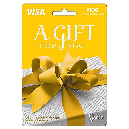 $100 Vanilla Visa Gift Card