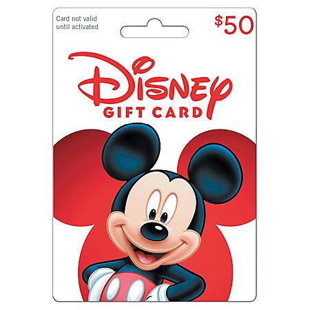 Disney $50 Gift Card
