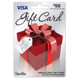 $50 Vanilla Visa® Gift Card