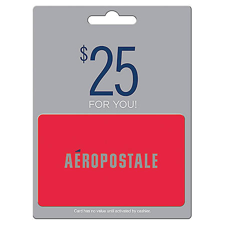 Aéropostale $50 Value Gift Cards -  2 x $25