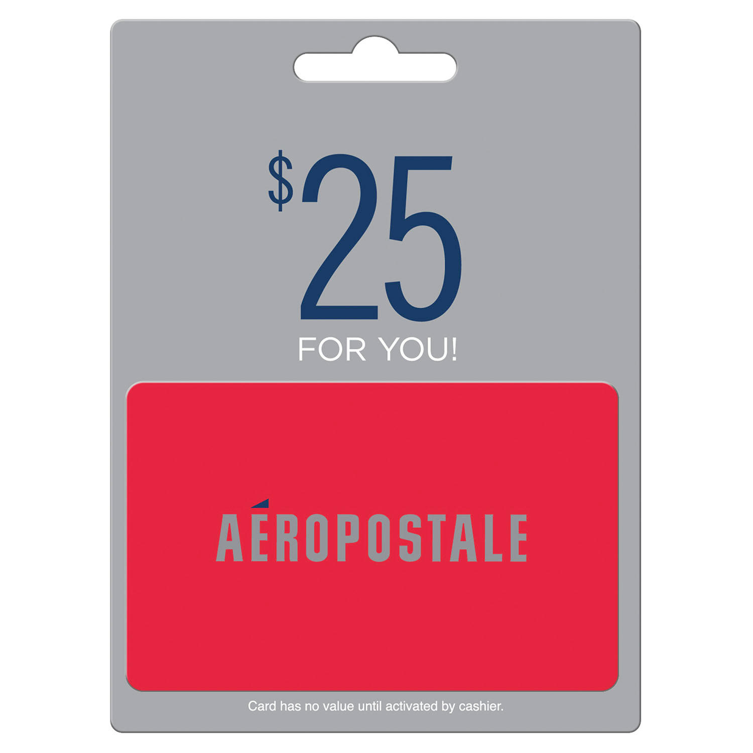 $50 (2 x $25) Aeropostale Value Gift Cards