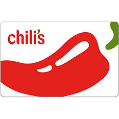 Chili's eGift Card - Various Amounts (Email Delivery)