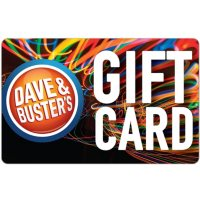 Dave & Busters eGift Card - Various Amounts (Email Delivery)
