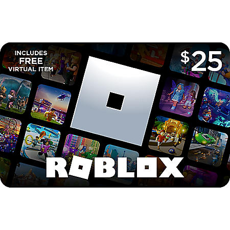 Roblox $25 eGift Card - Email Delivery