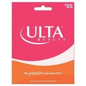 Ulta $25 Gift Card