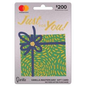 Vanilla® Mastercard® Shimmer Box $200 Gift Card