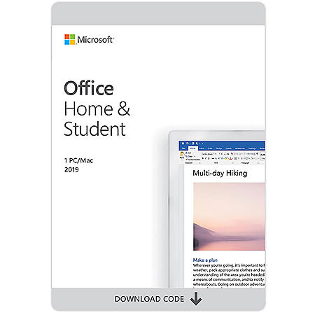 Microsoft Office 365 Home and Student 2020 eGift Card (Email Delivery)