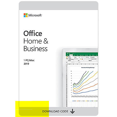 Microsoft Office 365 Home and Business 2020 eGift Card (Email Delivery)